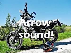 Arrow Krümmer Wr 125 X : arrow dark line test sound yamaha wr 125 x youtube ~ Jslefanu.com Haus und Dekorationen