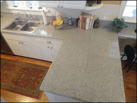 lazy granite imperial white sealed with epoxy rather than
