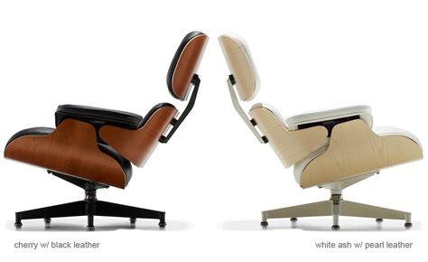 white ash eames 174 lounge chair hivemodern