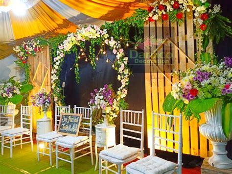 jasa dekorasi pernikahan rumah murah semarang full set