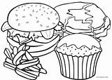 Coloring Food Pages Fast Printable sketch template
