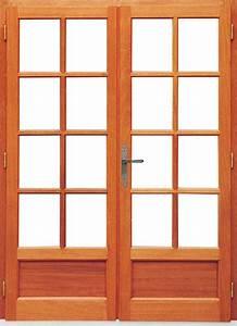 porte fenetre bois exotique prix double vitrage bois dthomas With porte fenetre double vitrage bois