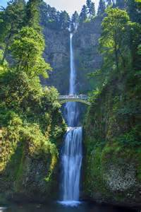 Waterfall Oregon Multnomah Falls