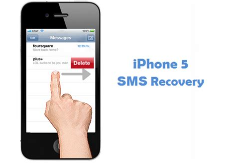text message recovery iphone phone 5 sms recovery restore deleted sms text message easily