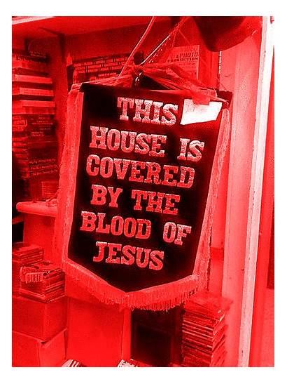 Blood Jesus God Covered Scriptures Give Bible