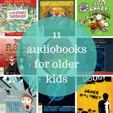 11 audiobooks for planning with 488 | 11 audiobooks for older kids