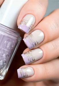 Purple nail art, Light purple nails and Nail art designs ...