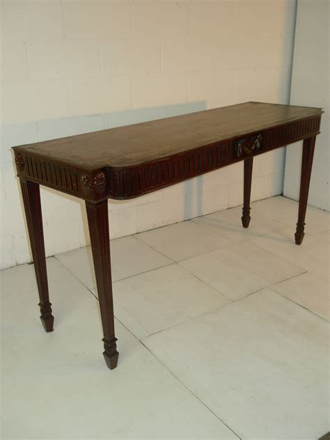 mahogany sofa table antique chippendale style carved mahogany console sofa table