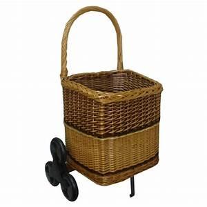 Chariot Buches Bois Roulettes : chariot bois carr 6 roues la vannerie d 39 aujourd 39 hui ~ Dailycaller-alerts.com Idées de Décoration