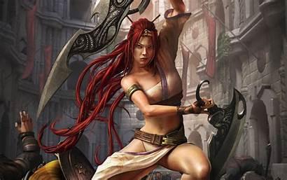Fantasy Wallpapers Digital Desktop Female Woman Backgrounds