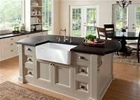 kitchen island with sink 037 Kitchen island with sink and storage (or dishwasher ...