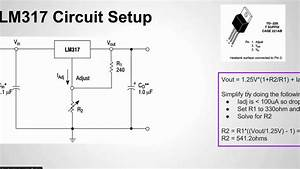 How To Configure The Lm317 Voltage Regulator