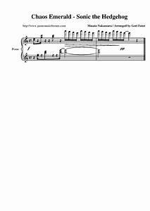 Game Music Themes Sonic The Hedgehog Sheet Music