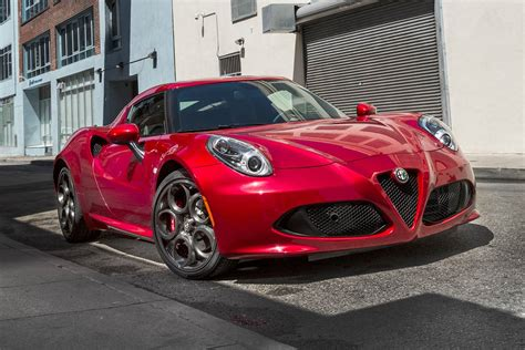 Alfa Romeo 4c Sale by 2018 Alfa Romeo 4c Pricing For Sale Edmunds