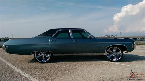 Chevy Classic,impala,belair,blue,four Door,chevrolet,old