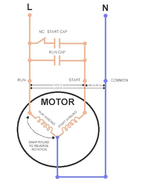 Motor Wiring Diagram Single Phase Coachedby