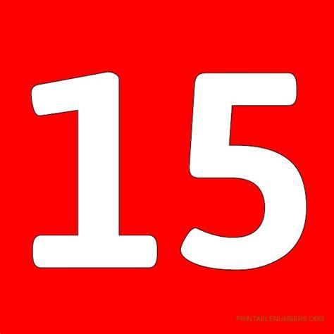 Printable Numbers 1-50 Red   Printable Numbers Org