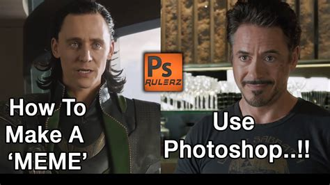 How To Make A Meme In Photoshop