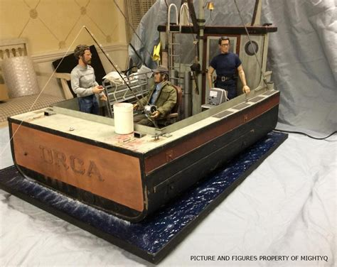 Jaws Boat Figure by Custom Diorama Orca From Jaws By Shaolincustoms On Deviantart