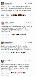 Donald Trump To Leave His Business, Focus On Presidency ...