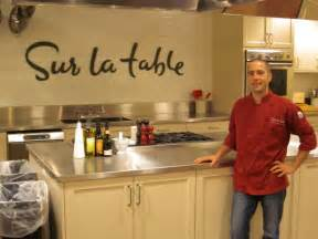 sur la table kitchen island featured chef zak groh of sur la table onmilwaukee
