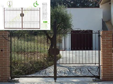 cancello carrabile cancello pedonale cancello ferro