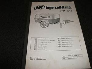 Ingersoll 31 7  41 Parts Manual