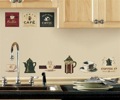 Coffee Cafe Kitchen Wall Decor   Cafe Coffee Wall Stickers
