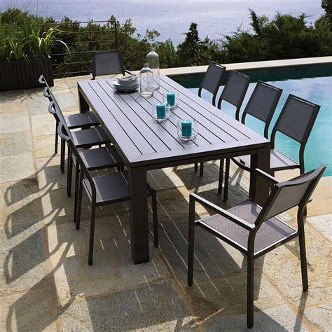 ensemble table et chaise de jardin plastique valdiz