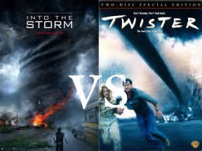 Twister the Movie into the Storm vs