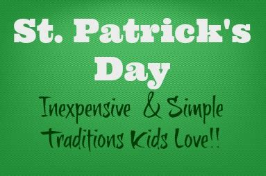 st s day traditions frugal st patrick s day traditions little dairy on the prairie