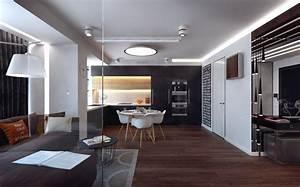 decoration appartement une selection de l39est moderne With parquet foncé salon