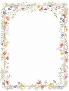 Spring Flower Border Clipart Clipartix