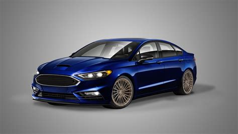 Fusion Sema by 2017 Fusion Sport To Join Modified Ford Fleet At Sema