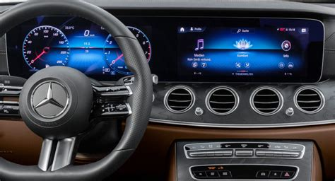 The future keeps looking better. Mercedes Teases The Interior Of Facelifted E-Class Coupe And Cabriolet | Carscoops