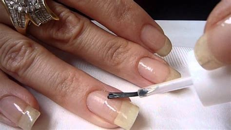 asp lightless gel nail repair youtube