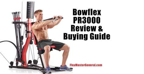 bowflex pr3000 guide pricing flex info results