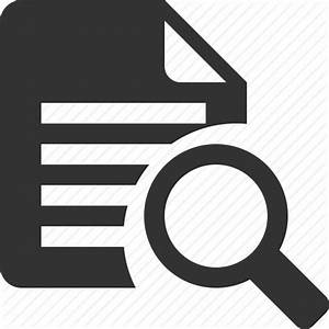 Document, file, find, page, preview, search, view icon ...