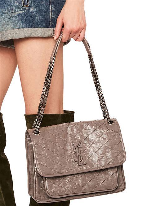 saint laurent medium niki monogramme chain bag handbags