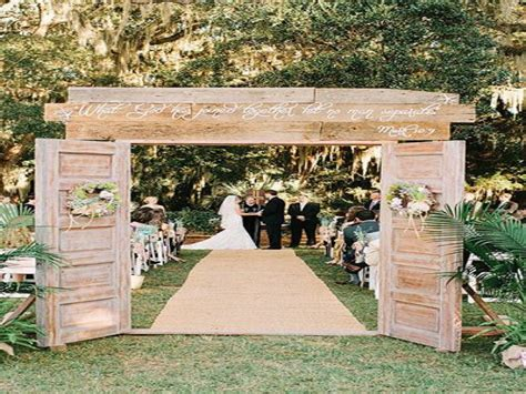 Ideas For Kitchen Remodel - rustic outdoor wedding decoration ideas