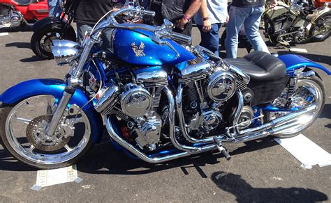 Motorcycle With Four V-twin Engines