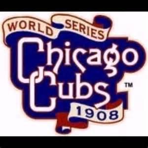 Chicago Cubs World Series Logo