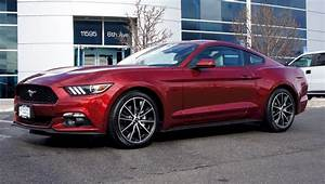 Ruby Red 2015 Ford Mustang EcoBoost Coupe - MustangAttitude.com Photo Detail