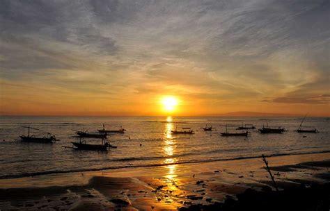 pantai sanur  sunrise  indah  bali bali