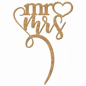Cake Topper Wedding Day Mr Mrs – Alexa Lane
