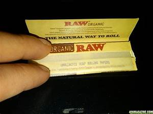 Raw Rolling Papers - 420 Product Review | 420 Magazine