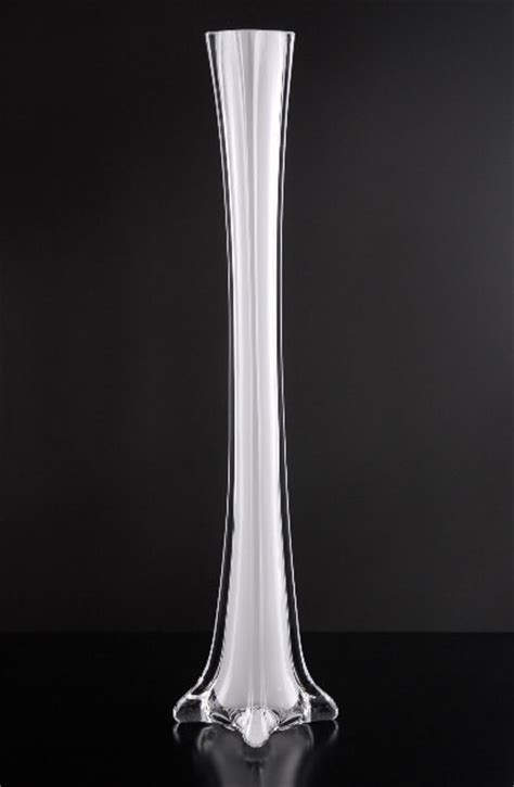 white eiffel tower vases white glass eiffel tower vases 16 quot