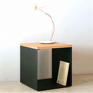 Table De Chevet Cube Table Chevet Osier Nostraberus