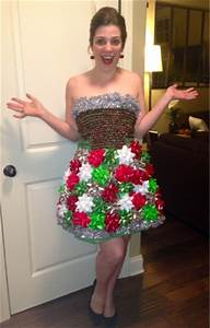 ADULT DIY Ugly Christmas Dress Really Awesome Costumes
