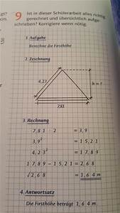 Steigung Berechnen Formel : berechnung der firsth he korrigieren was ist hier falsch mathelounge ~ Themetempest.com Abrechnung